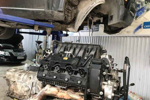hộp số Mercedes benz giật, không chuyển số sửa chữa như sau