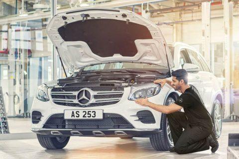 Bảo dưỡng Mercedes-Benz